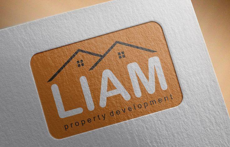 Liam property development logo design