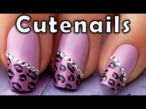 146 best nail designs images on pinterest make up nail designs purple leopard cheetah nail art designs tutorial by cute nails youtube prinsesfo Choice Image