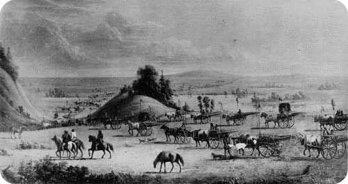 Manitoba History: The Historiography of Métis Land Dispersal, 1870-1890 Métis Red River Carts