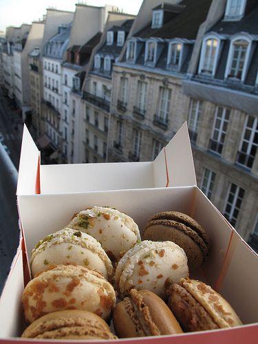 paris and macarons