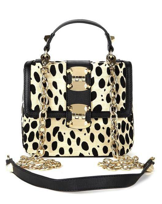 Cute Leopard Myra HandBag <3 #love #polkadot