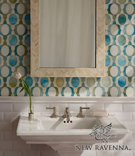 Janus Petite Mosaic Backsplash - Illusions™ Collection | New Ravenna Mosaics