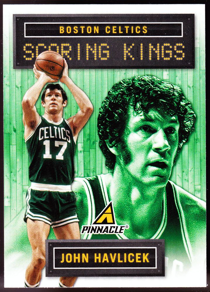 BOSTON CELTICS 2013-14 PANINI PINNACLE SCORING KINGS JOHN HAVLICEK NMMT #BostonCeltics