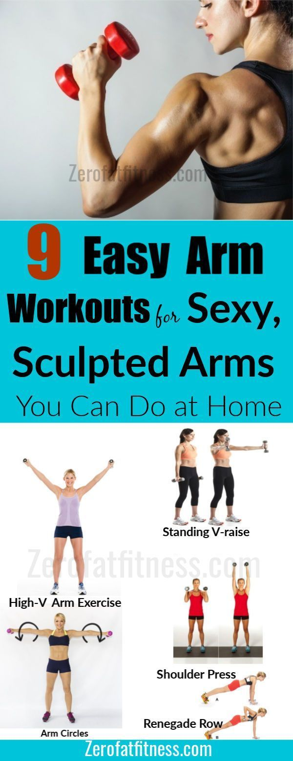 Top 9 Arm Exercises for Sexy Tank Top, Sculpted Arms That Work at Home 3