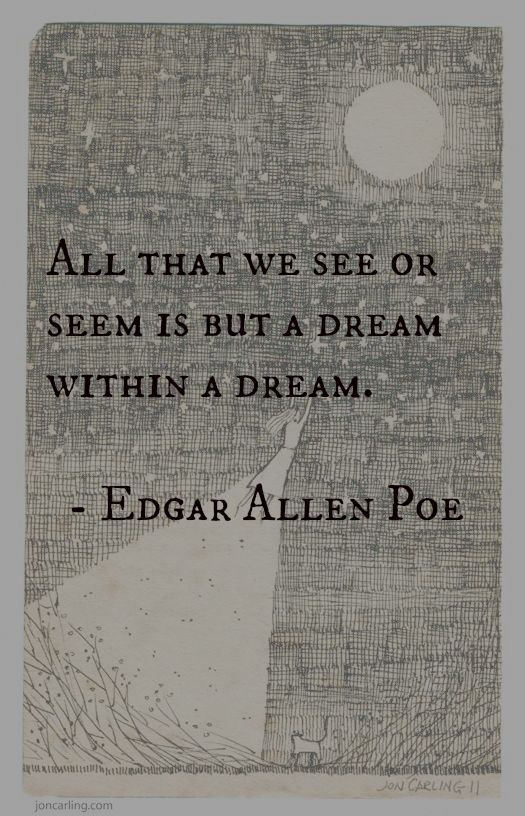 It is all just a dream with in a dream