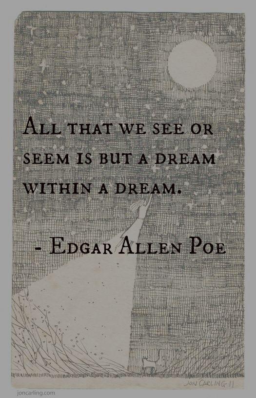 dream | Edgar Allen Poe quote