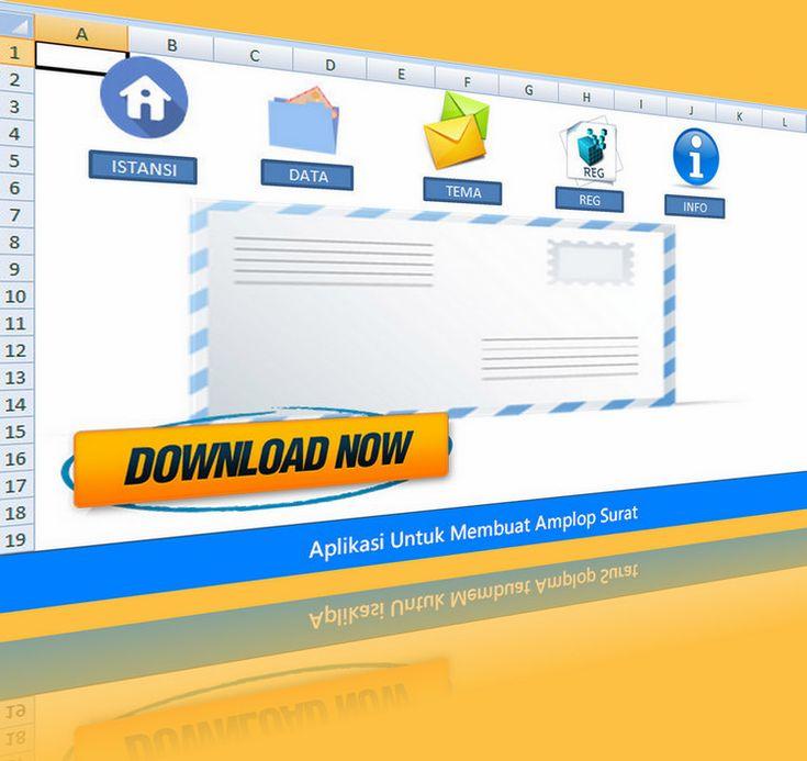 Aplikasi Untuk Membuat Amplop Surat Berbagai Jenis Ukuran Secara Mudah Dan Praktis Dengan Excel