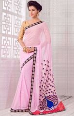 Beautiful Baby Pink Saree - https://www.ethanica.com/products/beautiful-baby-pink-saree-2