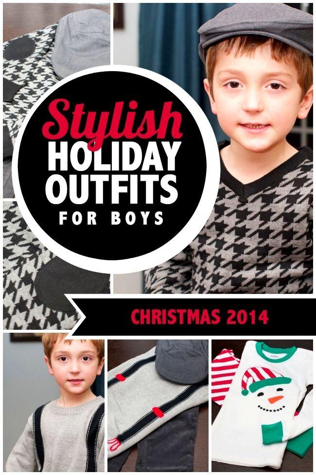 Stylish Holiday Outits for Boys #VisaCheckout