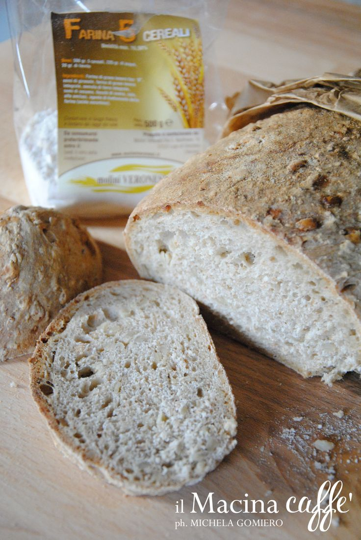 Pane ai cinque cereali - Five Grains Bread