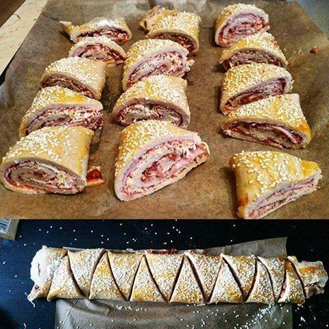 Szafi Fitt diétás pizzás croissant készítése (gluténmentes, paleo )