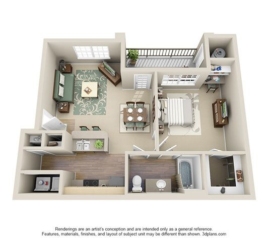 578 Best Studio Apartment Images On Pinterest