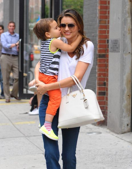 Miranda Kerr e Flynn Bloom