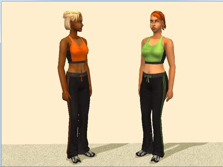 Mod The Sims - - Femininity - Overalls Default Replacement