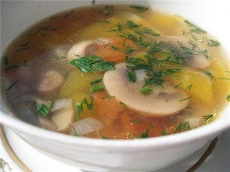 Как приготовить суп из овощей