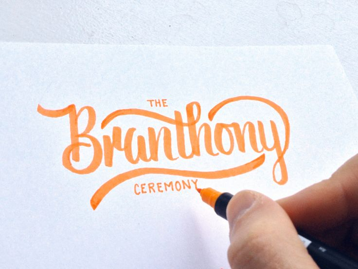 Ten beautiful hand lettered words | ik ben ijsthee blog