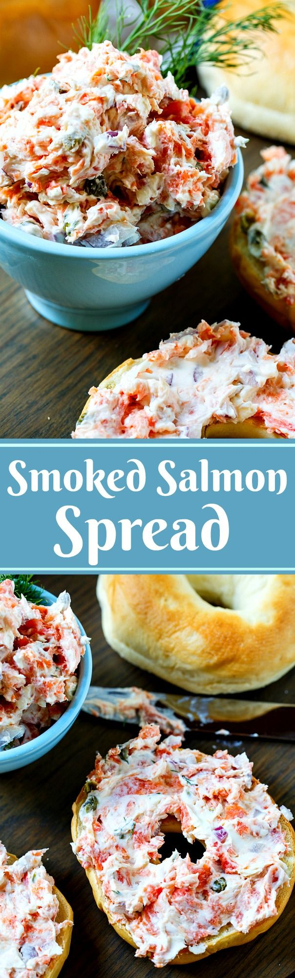 Smoked Salmon Spread- easy and delicious dip!
