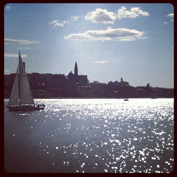 Sailing boats in Stockholm