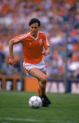 Marco van Basten. A Dutch football icon.