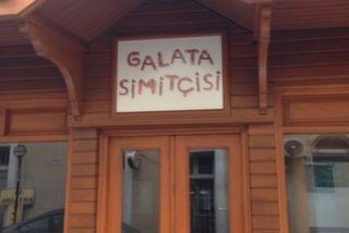 Galata Simitçisi