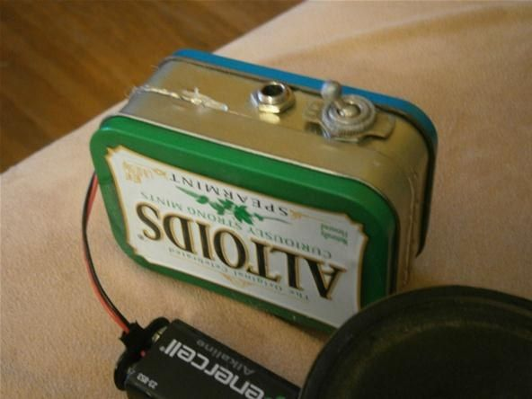 How to Build Your Own Mini Altoids Guitar Amp for About $5....I feel like this would be fun to try.....