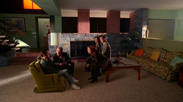 X Files Quot Sunshine Days Quot House Interior An Exact Replica