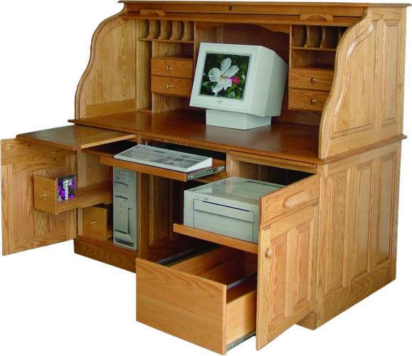 Roll Top Computer Desk Https Www Otoseriilan Com In 2020