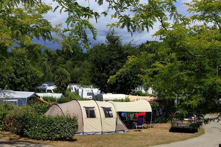 Kampeerplaatsen in de Morbihan - Verhuur kampeerplaatsen Zuid Bretagne - Camping de Penboch