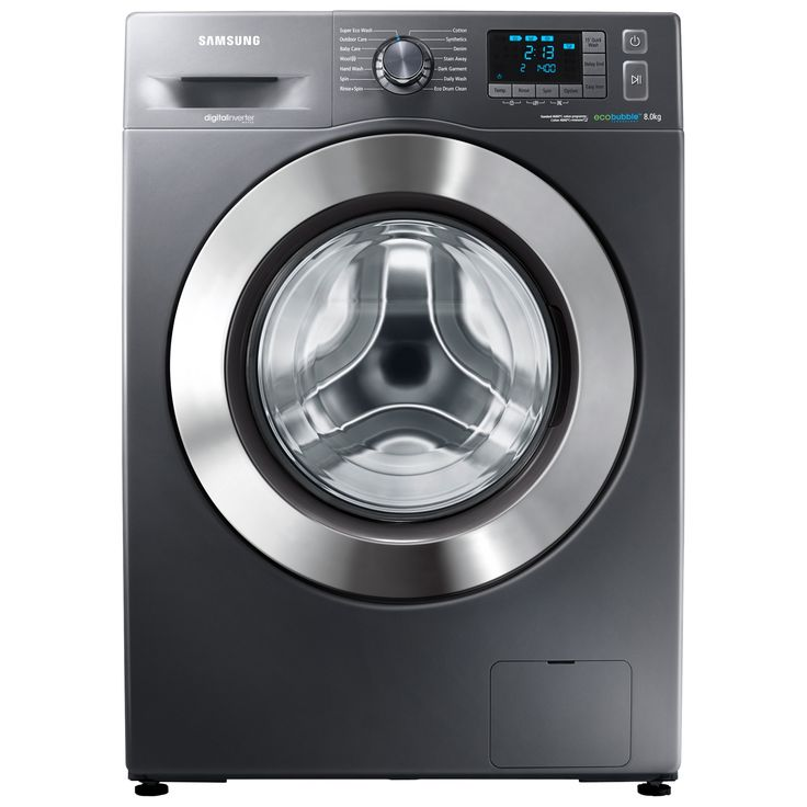 Buy Samsung WF80F5E5U4X ecobubble™ Freestanding Washing Machine, 8kg Load, A    Energy Rating, 1400rpm Spin, Graphite from our All Washing Machines range at John Lewis. Free Delivery on orders over
