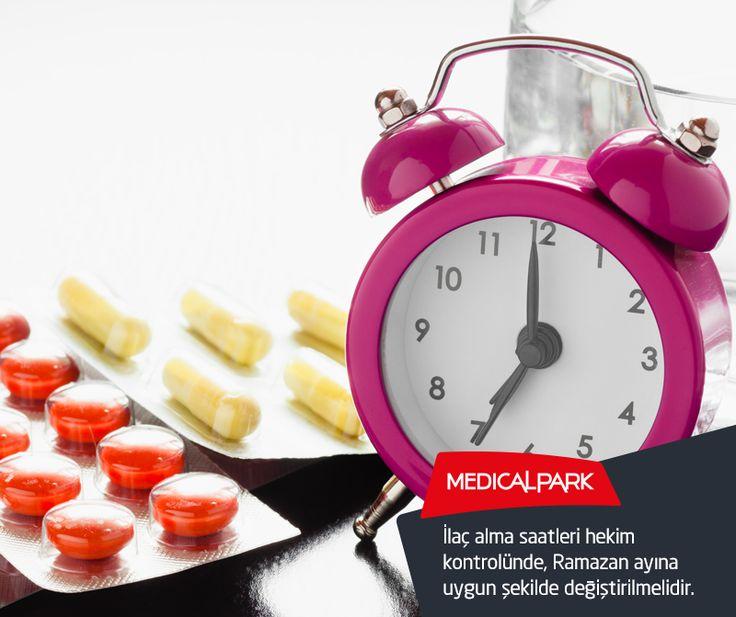 İlaç alma saatleri hekim kontrolünde, Ramazan ayına uygun şekilde değiştirilmelidir. #Ramazan #oruç