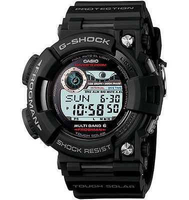 Other Wholesale Wristwatches 40133: Casio Tactical Frogman Solar Power And Dive Timer Watch, Black Gwf1000-1 BUY IT NOW ONLY: $700.0