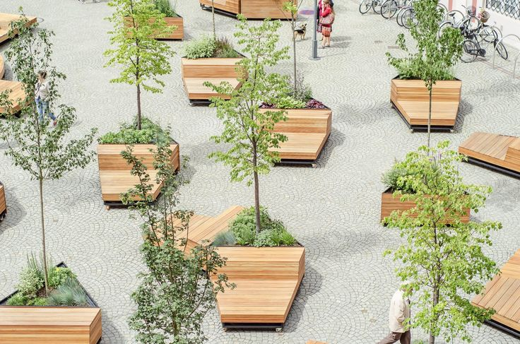 Atelier Starzak Strebicki · Courtyard City Hall