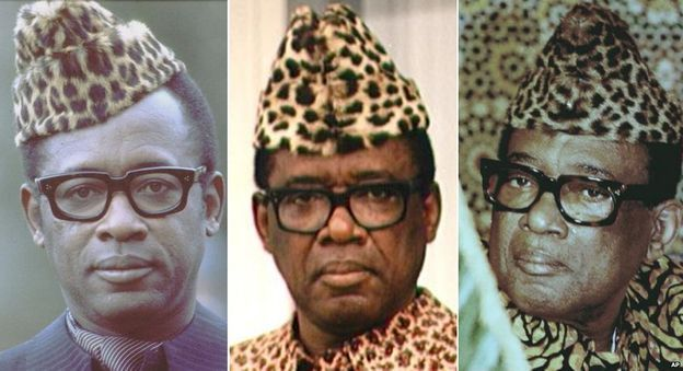"""Joseph Mobutu gained the title """"The Warrior who Goes from Conquest to Conquest Leaving Fire in his Wake"""" but kept the same hat"""