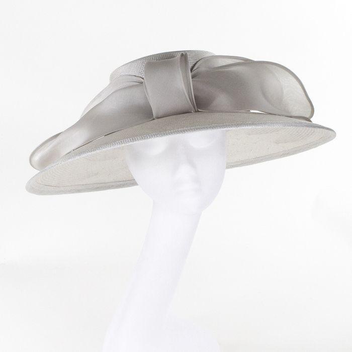 Whiteley Hats Grace Occasion Hat - Dove