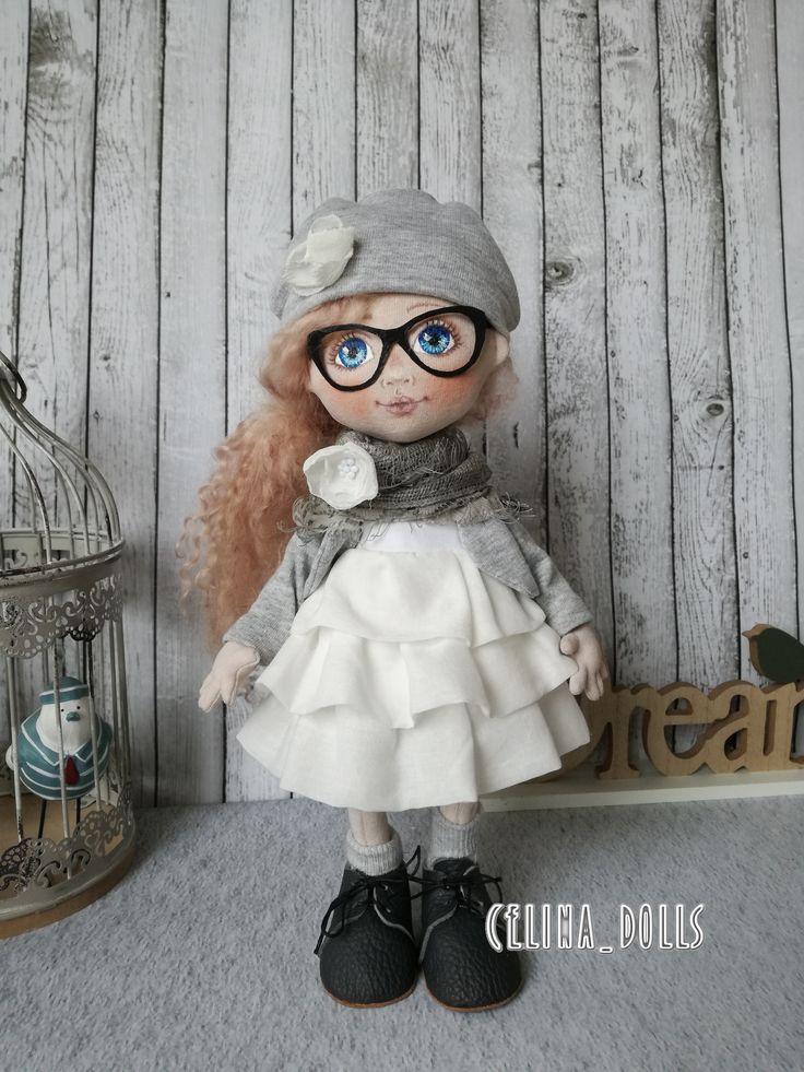 handmade doll from Celina_dolls Celina Grzeskiewicz