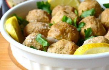 Polpette vegetariane con cipolle e spezie