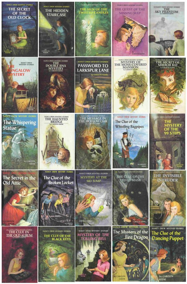 Nancy Drew books were my introduction to mystery books and I've loved mysteries ever since!!