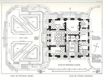 2 3 Mansion Floor Plans Le Petit Trianon Paris France