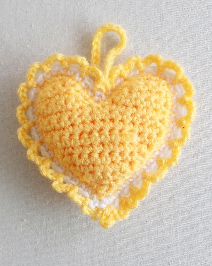 Heart Sachet from Best Free Crochet Patterns