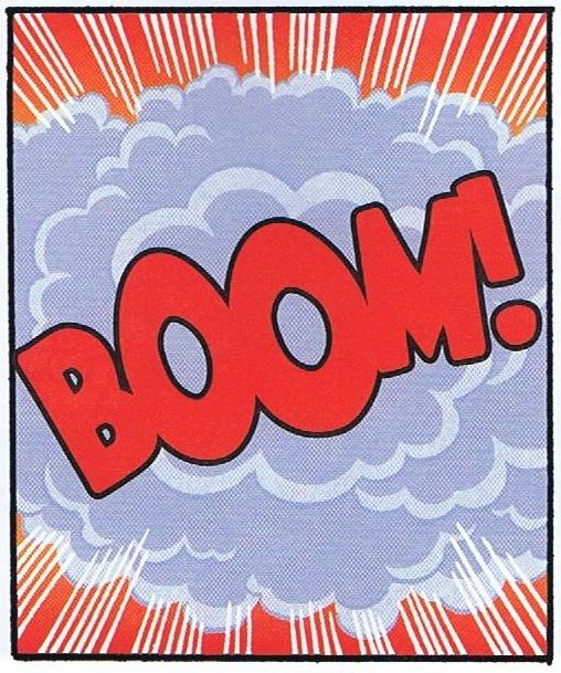 ...goes the dynamite! #Things That Go Boom | #BoomTown!