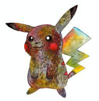Colourful Pika by ishkaart
