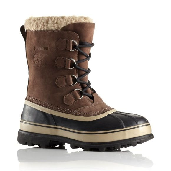 Sorrel Caribou Boots men's 8 ladies 11 Barely worn Look Brand New these are men's size 8 and can be worn by women size 11 also I love them so much but I am a size 10 SOREL Shoes Winter & Rain Boots