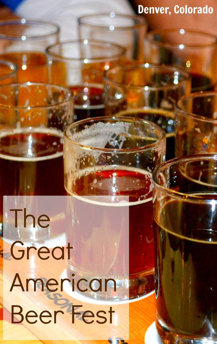 Great American #Beer Fest is an annual event in #Denver #Colorado