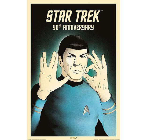 Star Trek Poster Spock 5-0