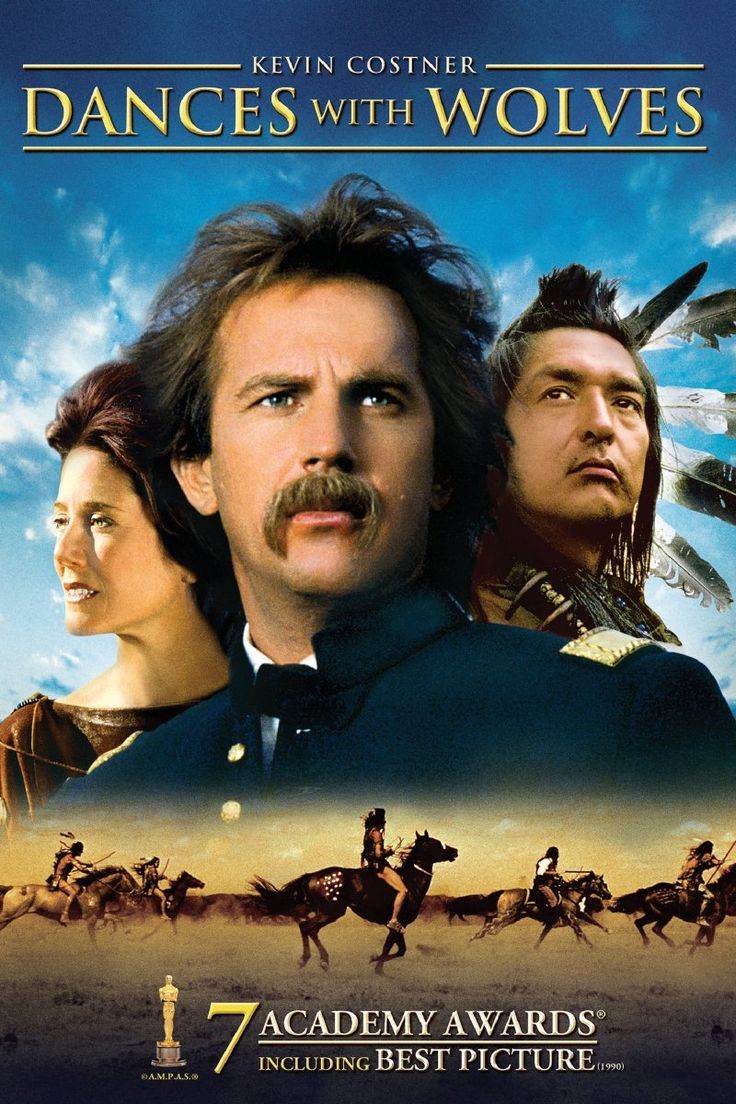 """""""Dances With Wolves"""" A grand, sweeping epic with inarguably noble intentions and arresting cinematography."""