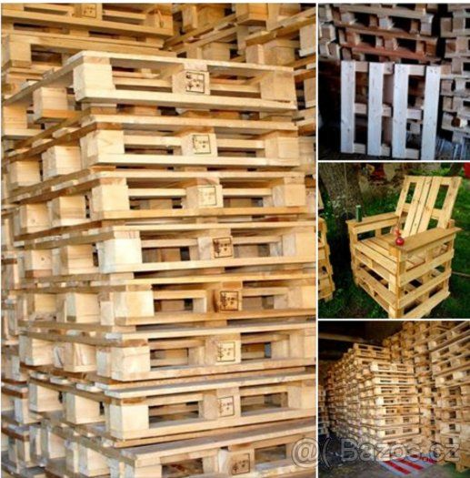 Dřevěné Palety za 30 Kč kus - 1