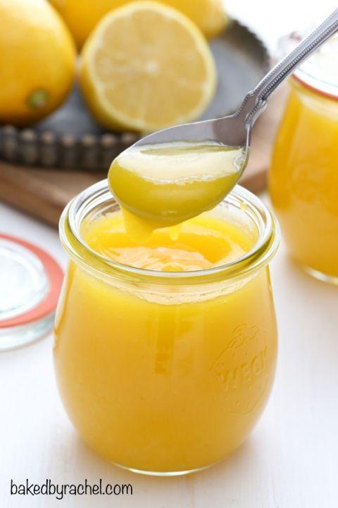 Easy homemade lemon curf