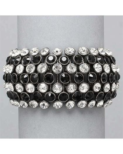 Black Rhinestone Bracelet Best Bracelets