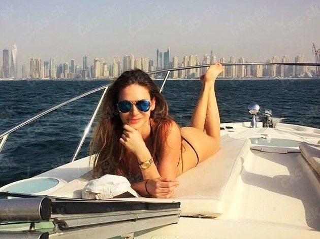 #celebrityfeetinthepose #Slovakia #Slovak #model and #beauty #queen Andrea Veresova