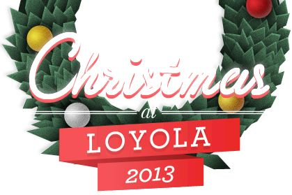 Christmas at Loyola University Maryland advent calendar